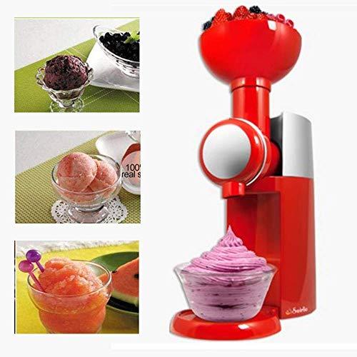 QWEAS Eiscreme-Maschine, DIY Frucht-EIS Smoothie Maschine, elektrisches Eismaschinen EIS Sorbet Sorbet