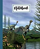 """Notebook: Caudipteryx Dinosaurs Composition Notebook College Ruled,Caudipteryx Dinosaurs Notebooks, Notebooks for School 