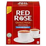 Red Rose Decaffeinated Orange Pekoe Tea 48 bags 115g {Imported from Canada}
