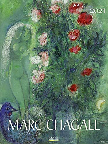 Marc Chagall 2021: Großer Kunstkalender. Edler Wandkalender mit Werken des Künstlers. Kunst Gallery Format: 48x64 cm: Groer Kunstkalender. Edler ... des Knstlers. Kunst Gallery Format: 48x64 cm
