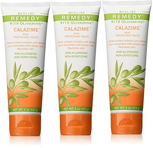 Medline Remedy Olivamine 4 Ounce Calazime Skin Protectant...