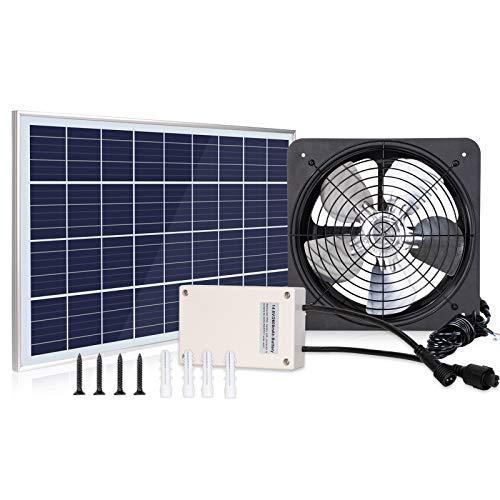 solar powered exhaust fan - 1