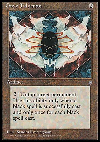 Magic The Gathering Onyx Talisman - Talismano de Onice - Ice Age
