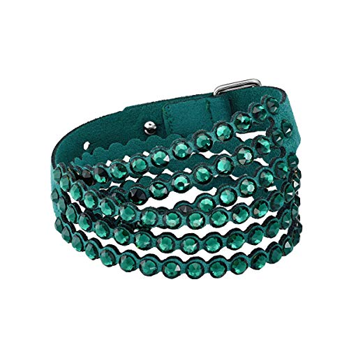 Swarovski Pulsera Power Collection, de Mujer, verde