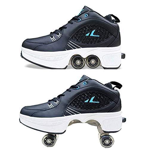 HealHeatersⓇ Unisex-Kinder Skateboard Schuhe Kinderschuhe Mit Rollen Skate Shoes Rollen Schuhe Sportschuhe Laufschuhe Sneakers Mit Rollen Beste Halloween Weihnachten