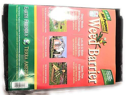 Weed Barrier Easy Gardener All- Purpose (4'x8') (Black)
