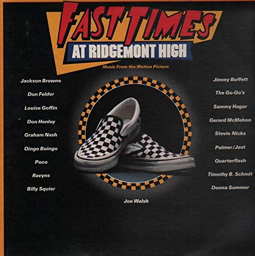 Various - Fast Times At Ridgemont High o Music From The Motion Picture - Full Moon - 60158-1, Asylum Records - 60158-1