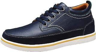 Hombre Invisible Elevador Aumento de Altura 2.36 Pulgadas Zapatos Más Altos Cuero Gamuza Costuras Cordones Oxford
