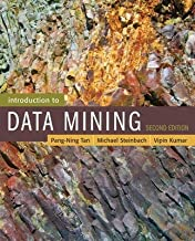 [(Introduction to Data Mining)] [By (author) Pang-Ning Tan ] published on (February, 2017)