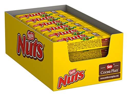 Nestlé Nuts Schokoriegel Bild
