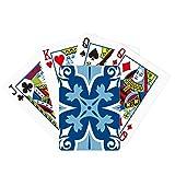 Marruecos - Juego de cartas mágicas con ilustración azul