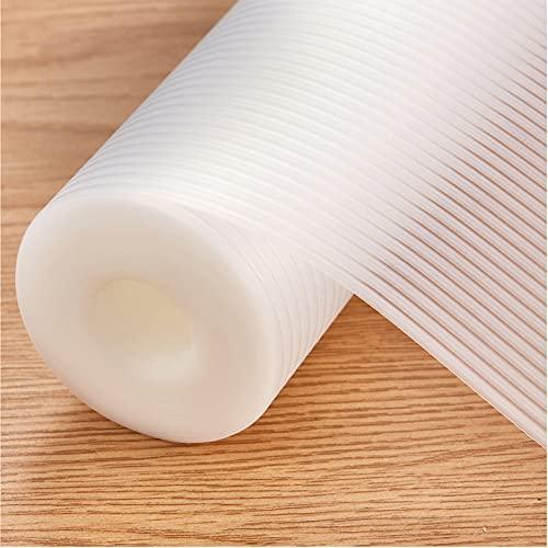 EVA Plastico Protector Antideslizante Cocina, 30cmx200cm Impermeable Estera del Refrigerador, Forro de cajón Reutilizable, Alfombras Non Adhesivo para Mueble Fregadero Estante Cubre Encimera