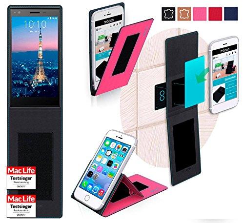 reboon Hülle für ZTE Blade Vec 4G Tasche Cover Case Bumper | Pink | Testsieger