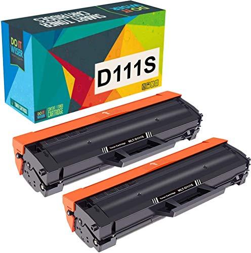 Do it wiser MLT-D111S Cartucho de Tóner Compatible para Samsung Xpress M2026W M2020W M2070 M2070FW M2026 M2020 M2022 M2022W M2070W M2070F M2078W (2 Negro)