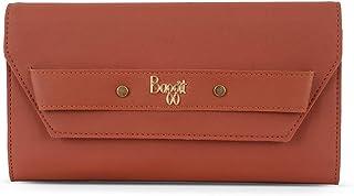 Baggit Spring-Summer 2020 Faux Leather Women's 3 Fold Wallet (Red) (Lj Cleaty)