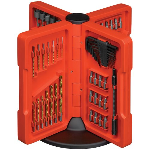 Black & Decker 71-135 Deluxe Woodshop Accessory Set, 140-Piece