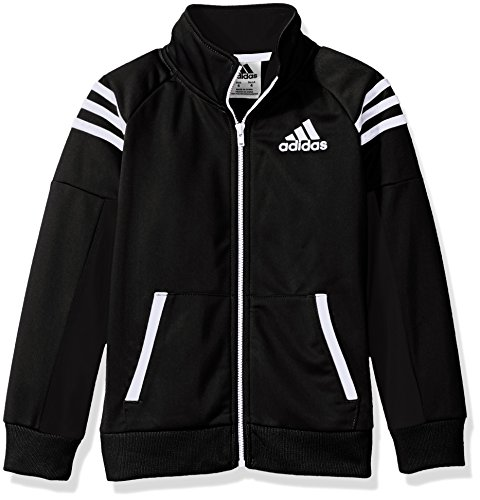 adidas Boys' Big Tiro and Tricot Jackets, Black, L (14/16)