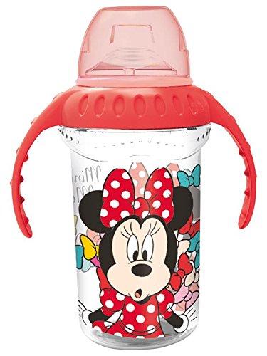 Minnie mouse st-45328 Tasse entraînement Grande 330 ml BOQ. Silicone Couleur Bows '