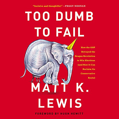 Too Dumb to Fail audiobook cover art