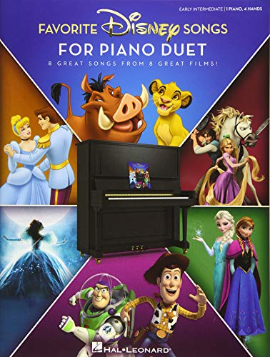 Favorite Disney Songs for Piano Duet: 1 Piano, 4 Hands / Early Intermediate