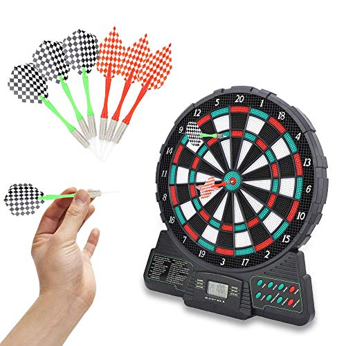 14,6 Inch Electronic dartboard Game Set LCD display Automatic Scoring Dart Plate Scoren raad met muziek en geluid Prompt