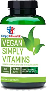 Simply Fitness UK Vegano Multi Vitaminas