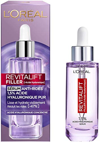 L Oréal Paris - Revitalift Filler - Sérum Anti-Rides - À l Acide Hyaluronique Pur - 50 ml