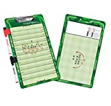 GoSports Football Dry Erase Coaches Board with 2 Dry Erase Pens