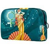 KAMEARI Bolsa de cosméticos de la diosa griega Afrodita grande organizador de...