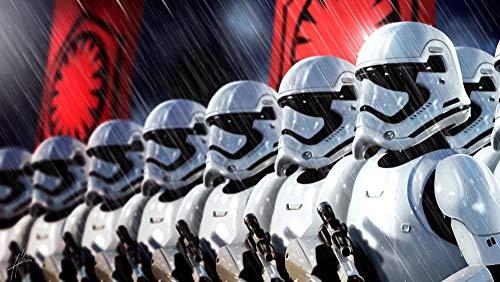 lcyab Puzzle Juguete Rompecabezas De Madera-Star Wars Armadura Blanca Soldado Soldado Foto-1000 Piezas Juguete Educativo para Niños Adultos Regalo De Cumpleaños