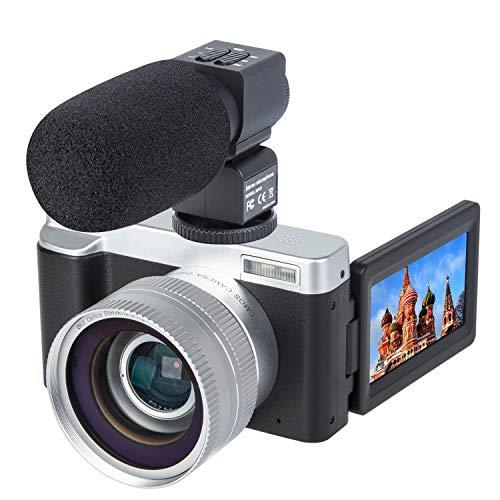 Digital Video Vlogging Camera Recorder 3.0 Inch Flip Screen HD1080P 30FPS 24.0MP 16X Digital Zoom...