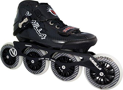 VNLA Carbon Speed Inline Skates Black 10