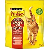 Purina Friskies Crocchette Gatto Crock e Soft con Manzo,...