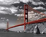 empireposter San Francisco Golden Gate Bridge Colorlight