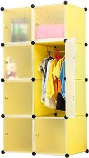 Armoire Assemblée Plastique Petite Place Boîte Armoire Adulte Simple Armoire Petit Appartement Location Sauvage Economie L...