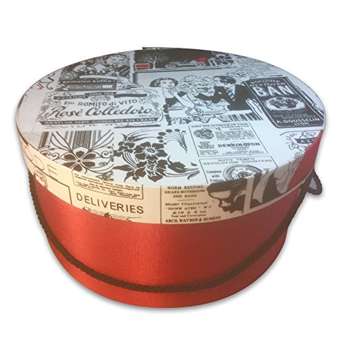 HAT OR Gift Box - 50'S Newspaper