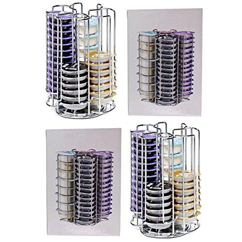 spares2go 104rotatif Capacité 52dosettes Racks pour machine à café Bosch Tassimo Capsule gousses (2x 52Pod Distributeur de Tour)