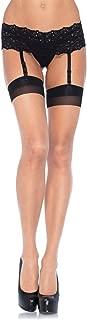 contrast seam stockings