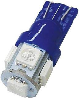 Motolite MT20804W 12V SMD Single Contact Wedge Wide Angle Beam Globe LED Light 2pc, White