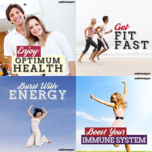 Fit and Healthy Subliminal Messages Bundle audiobook cover art