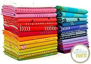 Andover Chroma Fat Quarter Bundle (26 pcs) - Alison Glass 18 x 21 inches (45.72cm x 53.34cm) Fabric cuts DIY Quilt Fabric