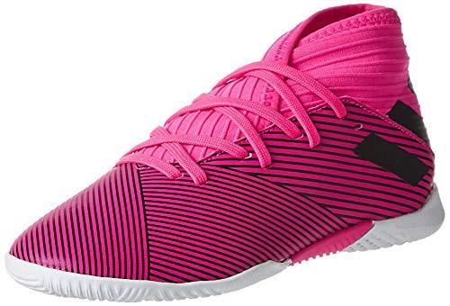 adidas Performance Nemeziz 19.3 Indoor Fußballschuh Kinder pink/schwarz, 36 2/3 EU - 4 UK - 4.5 US