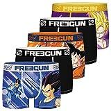 FREEGUN Dragon Ball Son Goku et Son Gohan FG/DBZ/AM/1/PK5 Ropa interior, P3, M para Hombre