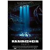 Rammstein Poster Paris Mehrfarbig, Offizielles Band