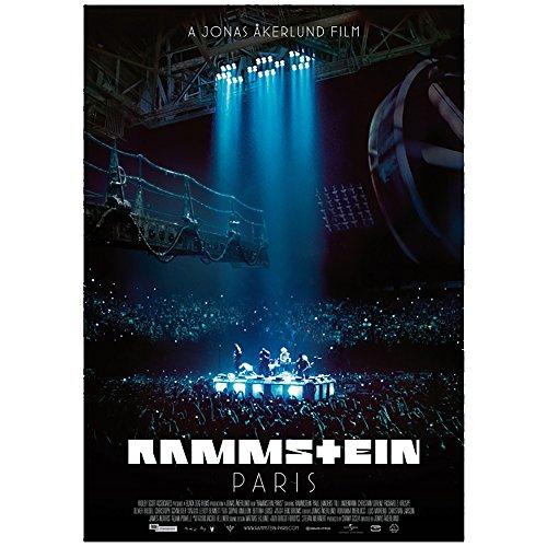 Rammstein Poster Paris Mehrfarbig, Offizielles Band Merchandise Fan Plakat