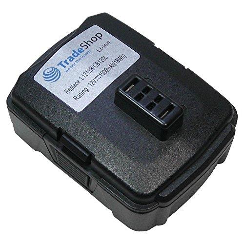 Batterie li-ion 12 v/1500mAh remplace ryobi 130503001 130503005 bPL1220 cB120L pour ryobi bID1201 cAH120LK cD100 cK212DA cKF120LM cR1201 cS1201 hJP001 hJP002 hP612K lSD1201 cHL12K