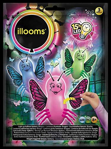 ILLOOMS LED ballonnen, meerkleurig, 3 stuks