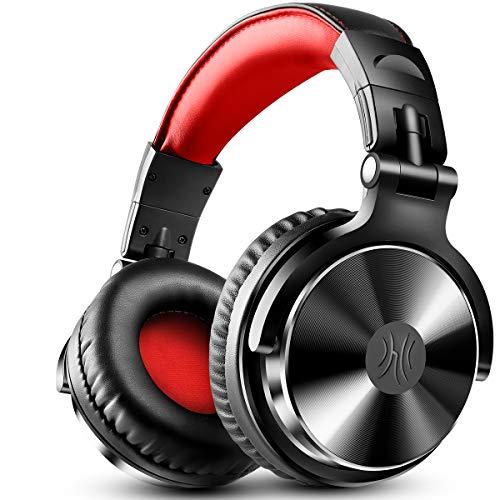 DJヘッドホン モニターヘッドホン オーバーイヤー スタジオレコーディング/楽器練習/ミキシング/TV視聴/映...