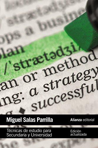 Técnicas De Estudio Para Secundaria Y Universidad (El Libro De Bolsillo - Ciencias Sociales) - 9788420688442