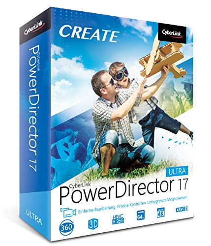 CyberLink PowerDirector 17 Ultra , PC